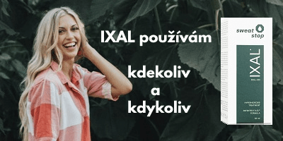 ixal antiperspirant pro ženy použití na celém těle