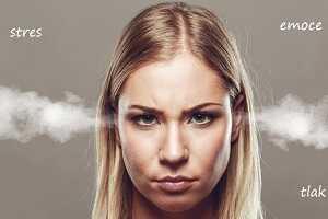 pocení stres emoce tlak napětí